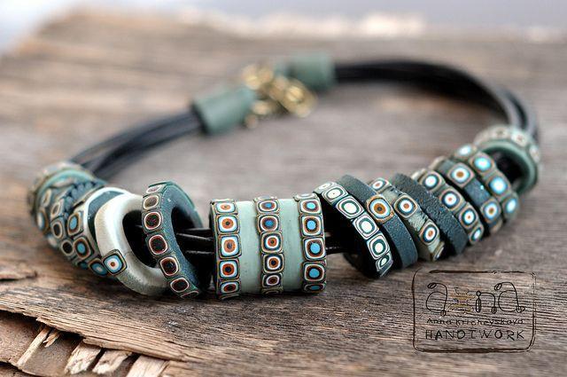 Inspiration....Anna Krichevskaya (polymer clay beads  :: jewelry making inspiration)