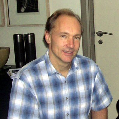"Sir Timothy John ""Tim"" Berners-Lee,   inventor of the World Wid Web"