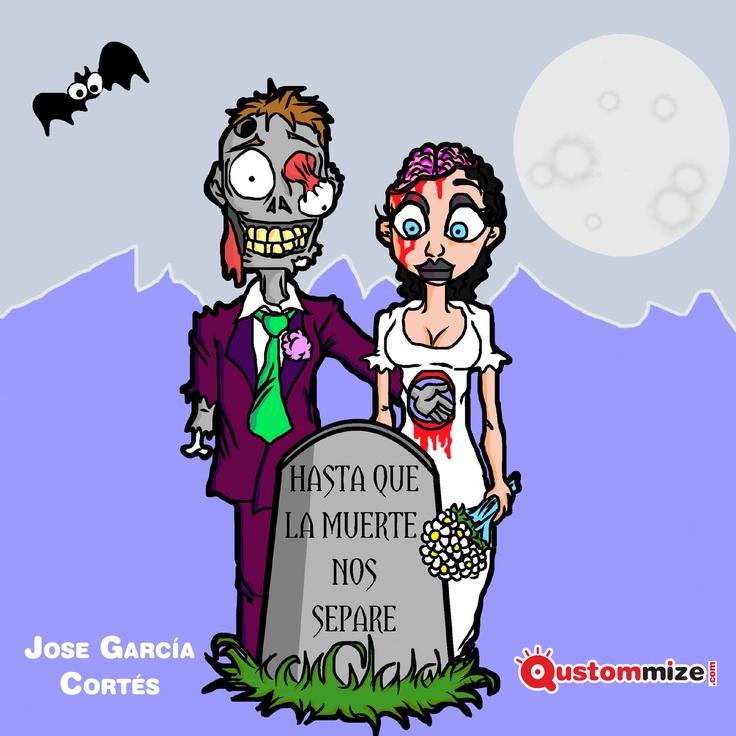 """I Concurso de ilustración """"Jon"""" (San Valentín 2.013).    Ilustración seleccionada para la exposición virtual. Jose García Cortés."""