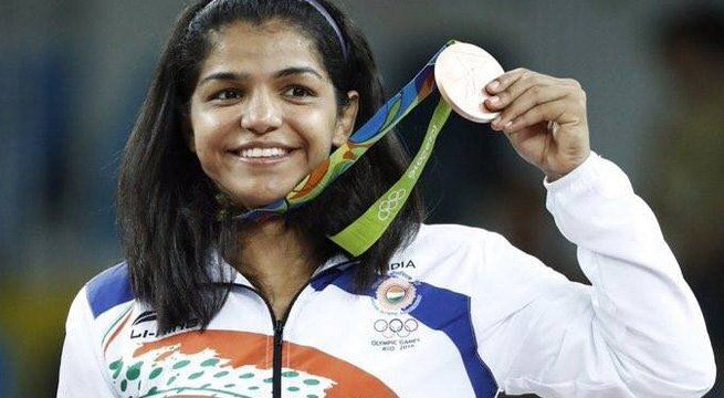 "Chandigarh: Aspiring to win another Olympic medal, Rio Games bronze medallist Sakshi Malik said wrestling for her was like offering a prayer. Sakshi became the first woman wrestler from India to bag an Olympic medal at the Rio Gamesin 2016. ""I want to become the first woman wrestler to win..."