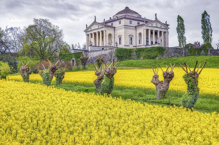 """La Rotonda"" ,Villa Almerico Capra (VicenzaItaly"