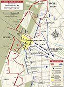 Gettysburg - Pickett's Charge - 3:00pm to 3:45pm