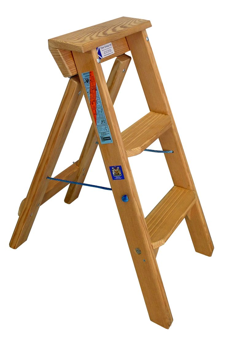 our tradesmen timber step ladders are made from douglas fir for extra strength