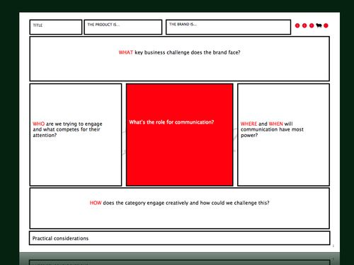 Creative Brief Sample BBH taken from a roundup ad analysis of – Creative Brief Template