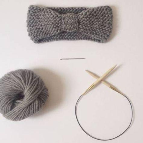 Strickmuster: Anleitung: Stirnband stricken