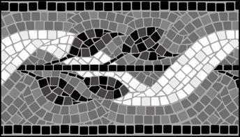 Click to see the actual ML5-M - Border No 5  stencil design.