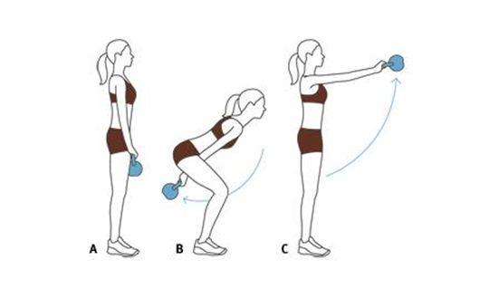 효과적인 케틀벨 운동 5가지로 전신 운동 끝 : 네이버 블로그