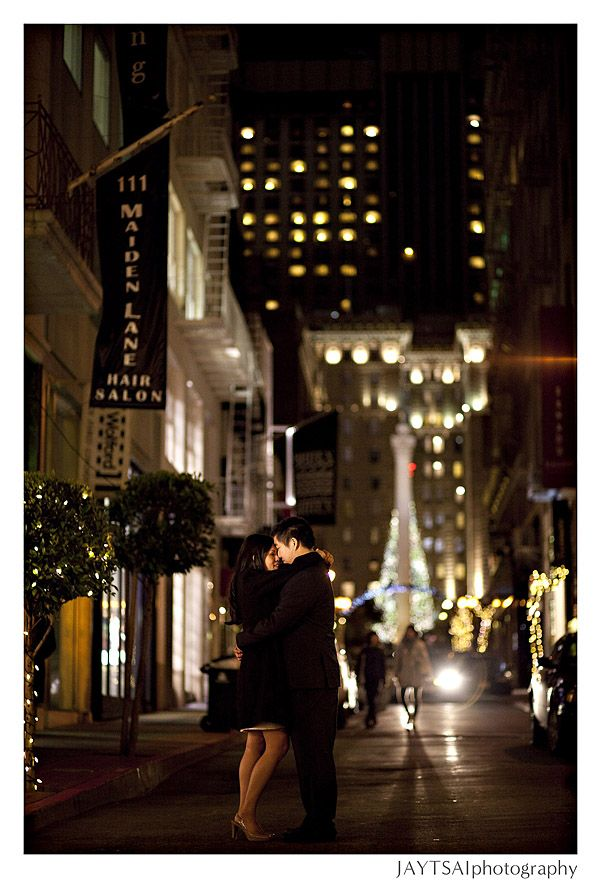 city photo for engagement picture...don't think you'd do these at night, but thought you'd like this picture just in case