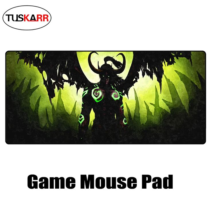 TUSKARR World of : The Burning Crusade,Illidan Stormrage Arthas Menethil Professional Gaming Mouse Pad War Speed version 09.