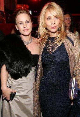 Rosanna and Patricia Arquette