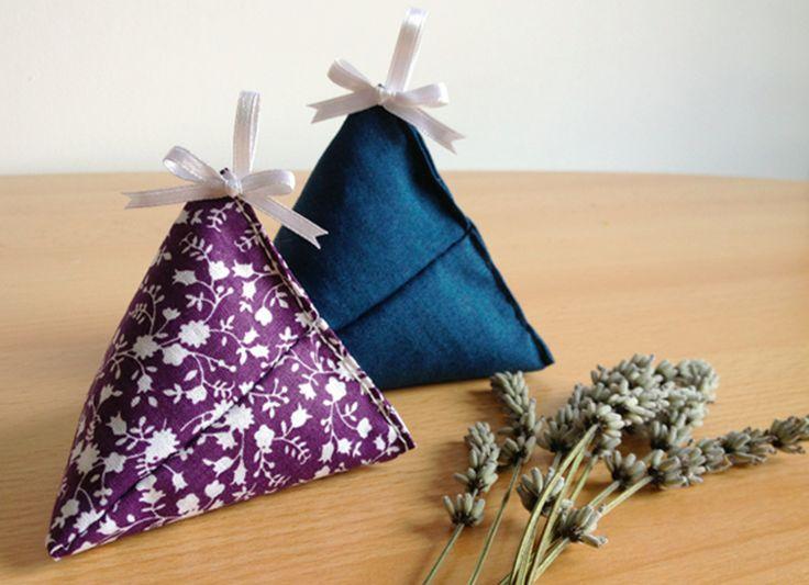 Voici un tuto pour coudre des petits berlingots de tissu afin d'accueillir de... - Modesettravaux.fr