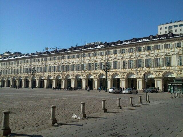 San Carlo square in  Turin  by  luigi  rabellino