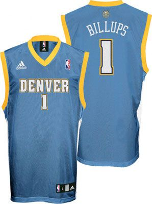 cb72421c236 ... Denver Nuggets Chauncey Billups 1 Blue Swingman NBA Jersey Sale ...