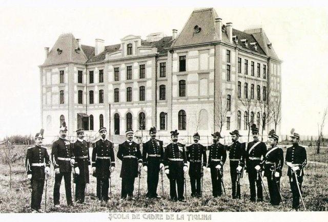 GALATI - SCOALA DE CADRE DE LA TIGLINA.OFITERII, 1902