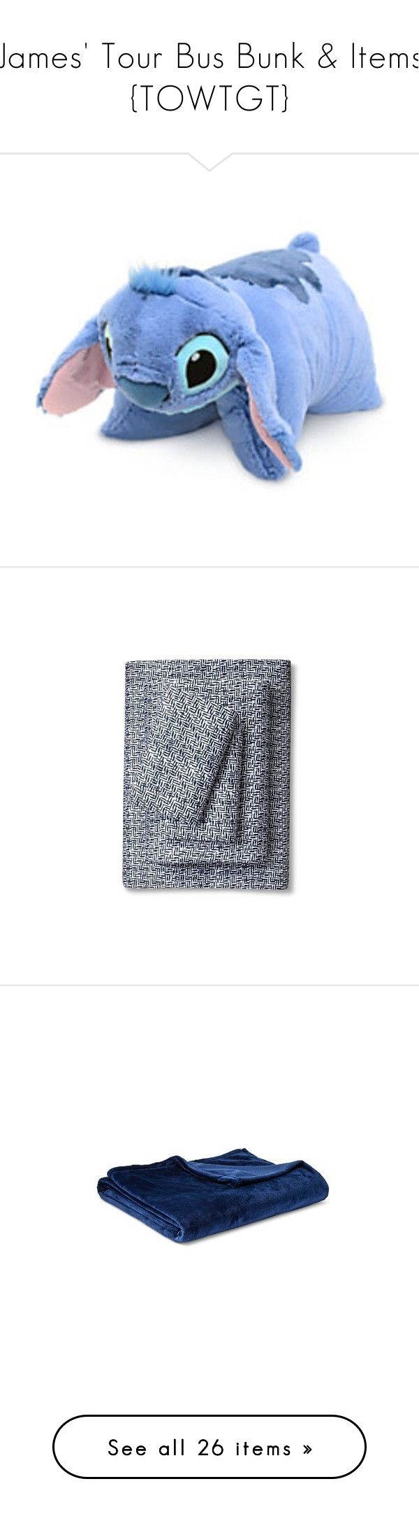 """""""James' Tour Bus Bunk & Items {TOWTGT}"""" by hiimmichelle ❤ liked on Polyvore featuring pillows, home, bed & bath, bedding, bed sheets, patterned bedding, contemporary bedding, nate berkus, nate berkus bedding and patterned sheet sets"""