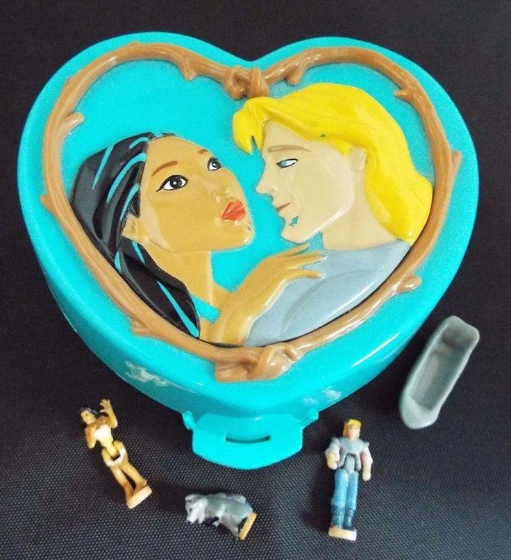 Vintage 1995 Polly Pocket Disney Pocahontas Bluebird Playset Complete
