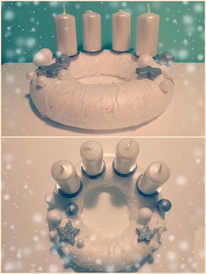 """Adventní věnec """"Něha""""  (Advent wreath """"Tenderness"""")"""