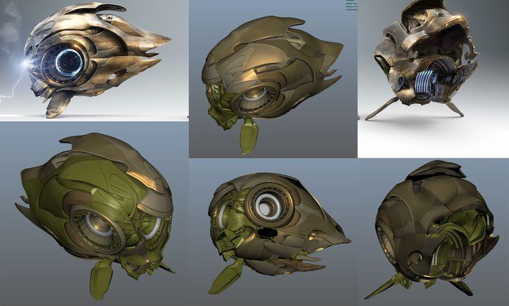 ArtStation - Starcraft Probe Art Direction, Jonathan Berube