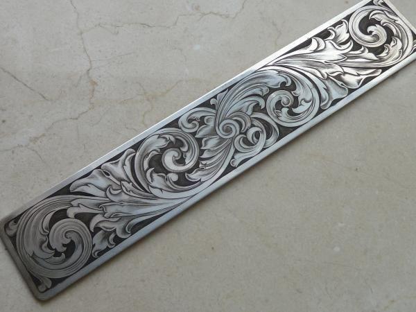 Scrollwork - Argentium Silver Bracelet