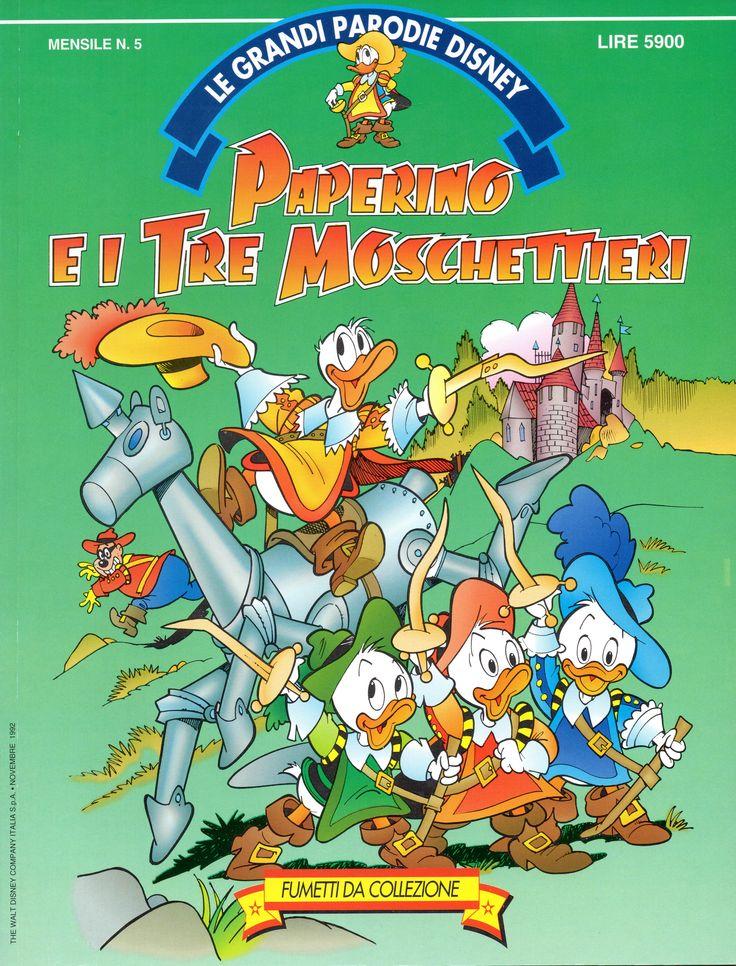 PAPERINO E I TRE MOSCHETTIERI - Le Grandi Parodie Disney n. 5 (1992)