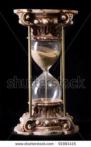 Antique Sand-glass - stock photo