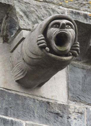 Although only one gargoyle looks as if it has escaped from an action movie the other new ones are equally terrifying