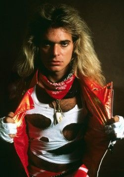 David Lee Roth of Van Halen, Philadelphia 1981