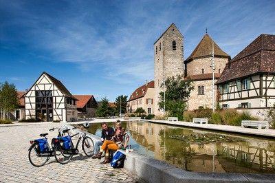 EuroVelo 15 - The Rhine Veloroute: Kembs / Neuf-Brisach — France Vélo Tourisme