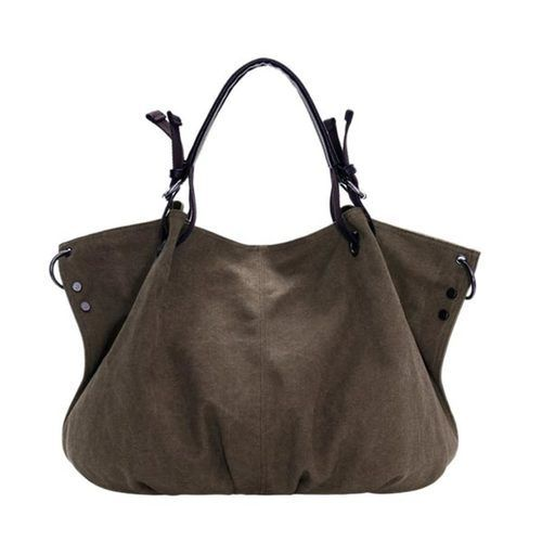 Shoulder CrossBody Bags Fashion Canvas Casual Big Handbag For Woman  This…