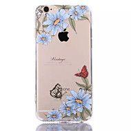 sinisiä+kukkia+tpu+++akryyli+naarmuuntumaton+taustalevy+combo+puhelin+iPhone+6+/+6s+–+EUR+€+4.89