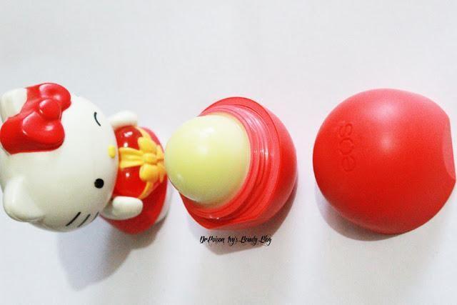 EOS Summer Fruit Lip Balm Review - Paperblog
