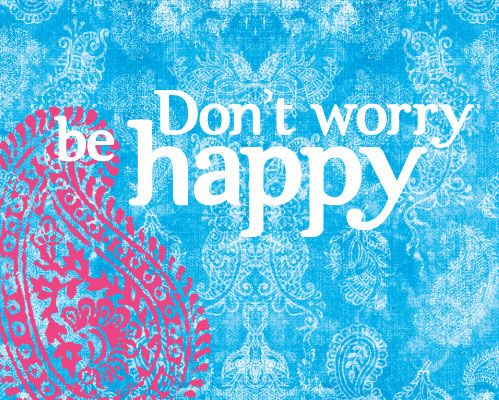 #Slowlife Don't worry, be #happy !