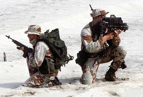 Posición defensiva SEALS TEAM VI