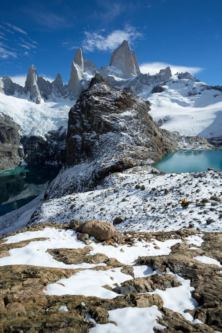 Laguna Del Los Tres, in Fitzroy National Park - Patagonian Argentina. by AaronPower on 500px