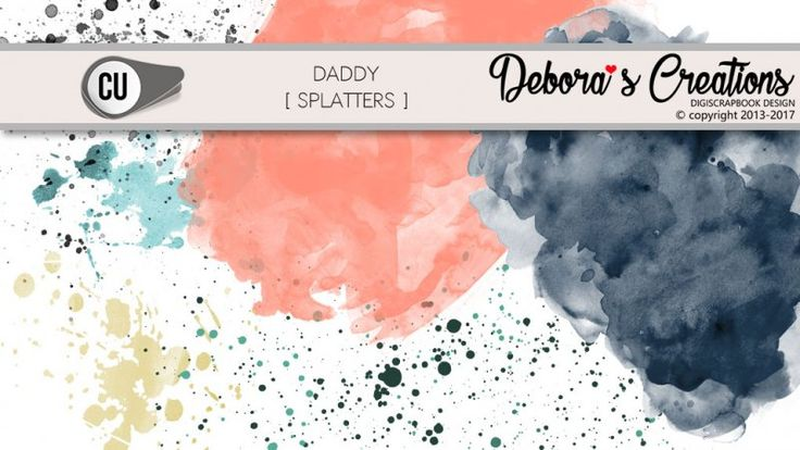 Daddy Splatters by Debora's Creations CU