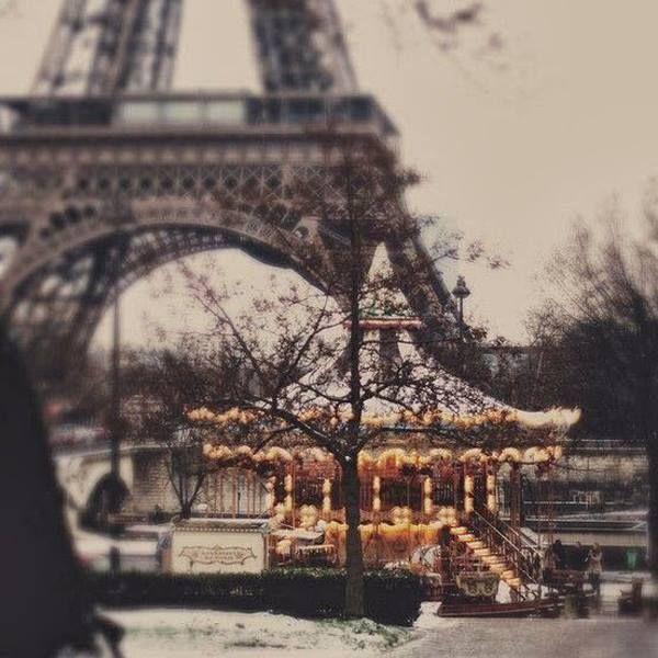 #Paris in the #winter.