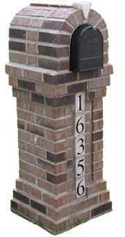 brick mailbox. / bontool.com
