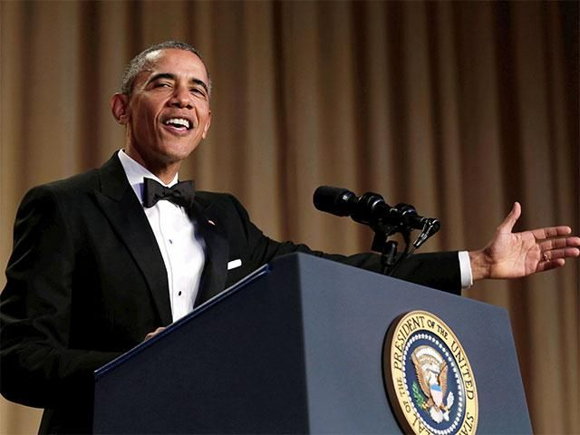 Slideshow : Comedian-in-chief Obama steals the night, one last time - Comedian-in-chief Obama steals the night, one last time - The Economic Times