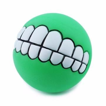 Yani Squeaky Pet Toy Sound Chew Ball Soft Fun Bite Ball Toy Teeth Tranining Dog Toy at Banggood