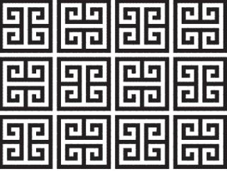 Greek Key patterns (for Group's Holy Land Athens VBS)
