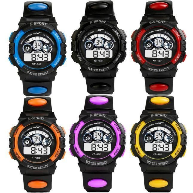 #Unisex boys girls kids #children digital led quartz alarm date sports #wrist wat,  View more on the LINK: 	http://www.zeppy.io/product/gb/2/272392410903/