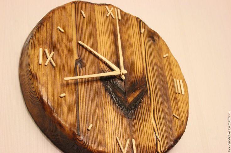 Купить Теплые часики - комбинированный, часы, часы настенные, часы интерьерные, часы ручной работы