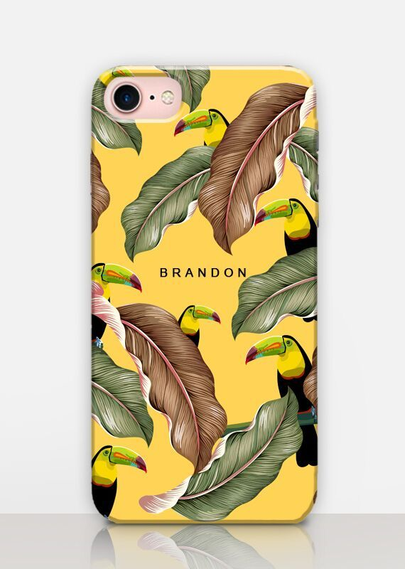 Personalized Toucan Phone Case