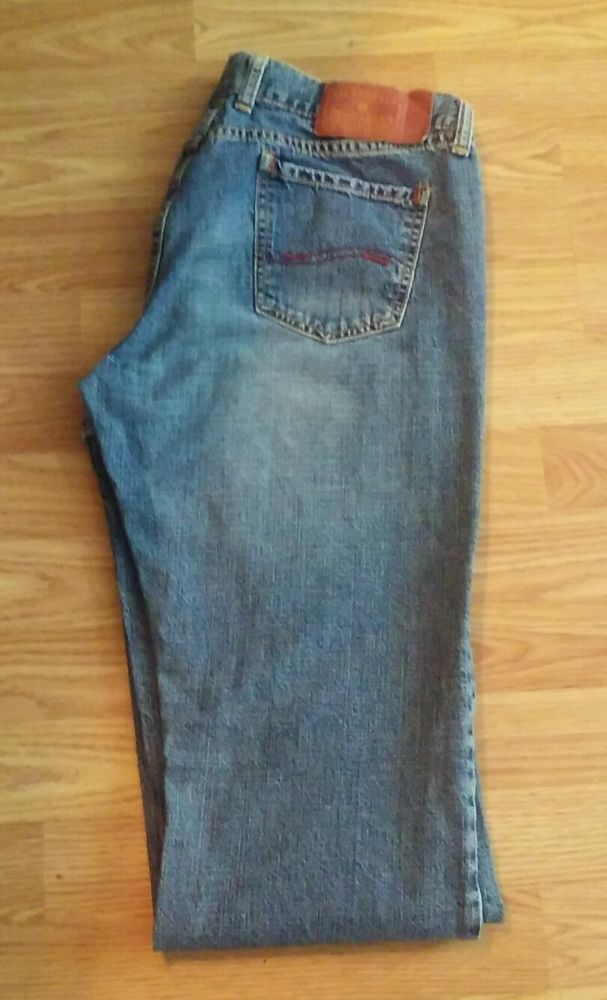 Lucky Brand Jeans Womens Dungarees red label flare split leg 29 #LuckyBrand #Flare