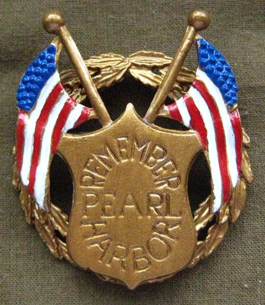 Pearl Harbor pin