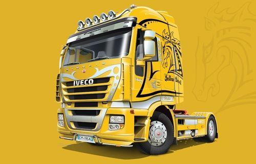 "Italeri 3898 IVECO Stralis ""Yellow Devil"""