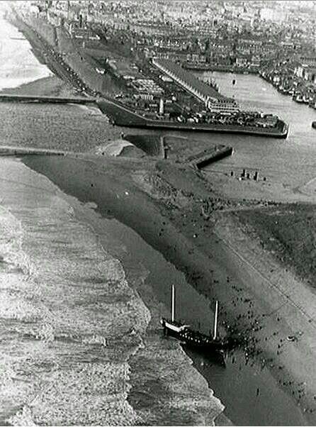 Norderney aan land als een vis op het droge....