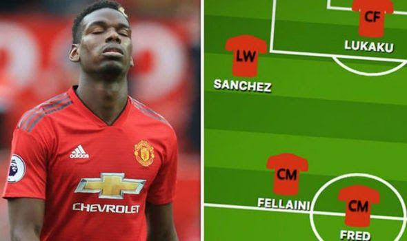Man Utd Team News Paul Pogba Starts For United In Predicted Man Utd Team News Predicted 4 2 3 1 Line In 2020 Manchester United Team Manchester United Liverpool Team