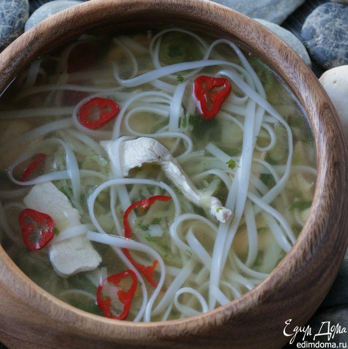 Тайский куриный суп - видеорецепт | Кулинарные рецепты от «Едим дома!»