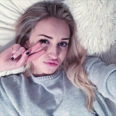 """[FC: Samantha Eklund] """"Hi you guys!"""" I smile. """"I'm Samantha. I would say call me Sam, but I hate when people call me that."""" I giggle. """"I'm sixteen and single, I'm addicted to cuddles! I'm shy at first but when you get to know me, I never shut up."""" I laugh. """"so introduce."""" //Samantha"""